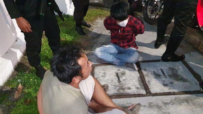 Narkoba Kalteng, Polantas Polresta Palangkaraya Temukan Pemotor Bawa Sabu saat Patroli Malam