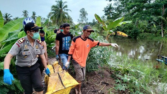 Mayat Dikubur di Persawahan di  Desa Jelapat Baru  Batola, Camat Tamban Minta Warga Tetap Tenang