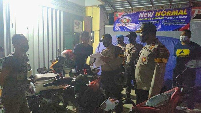 Polres HSU Rutin Patroli Sekaligus Imbau Masyarakat Cegah Covid-19