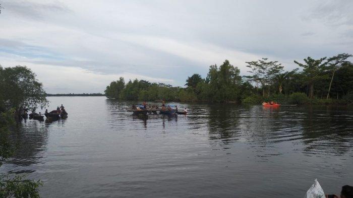BREAKING NEWS - Petani Kapuas Tenggelam saat Pulang dengan Menyeberang Sungai Terusanraya
