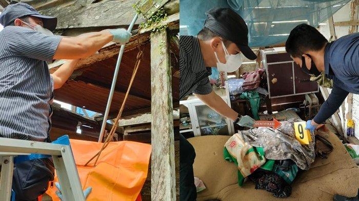 Gantung Diri di Tabalong Kalsel, Kakek 81 TahunDitemukan Tewas Tergantung di Teras Belakang Rumah