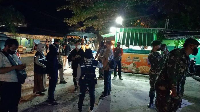 Pelaku Usaha Makanan dan Kafe di Palangkaraya Langgar Batas Jam Operasional Ditegur