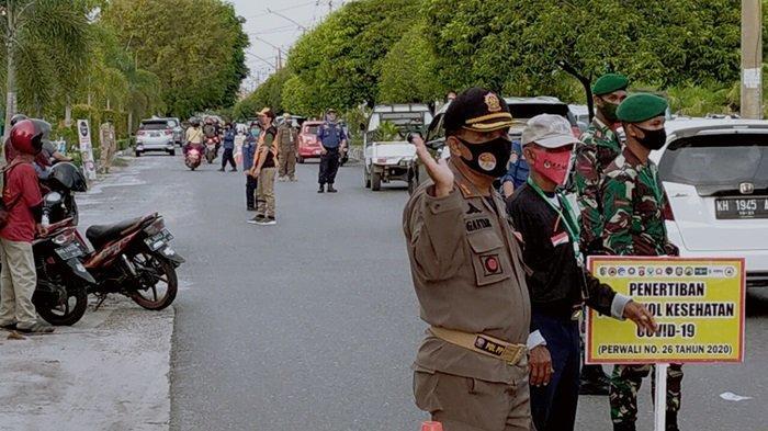 Satgas Covid-19 Palangkaraya Tingkatkan Razia Masker, Masih Banyak Pelanggar Terjaring Kena Sanksi