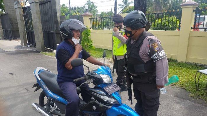Seluruh Personil Polda Kalteng Wajib Pakai Baju Anti Peluru dan Bersenjata Lengkap