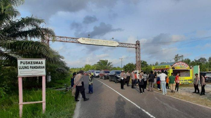 Ratusan Warga Gagal Berwisata ke Pantai Ujung Pandaran Kotim, Petugas Jaga Ketat Objek Wisata
