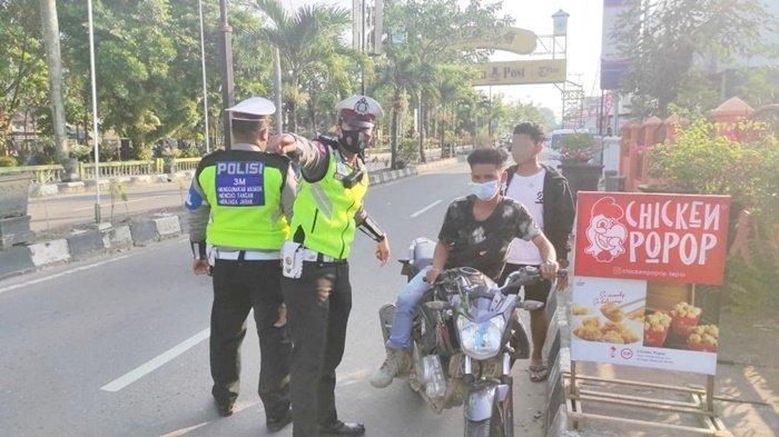 Jajaran Satlantas Polres Tapin Kalsel Amankan 24 Motor dan 5 Mobil di Kota Rantau