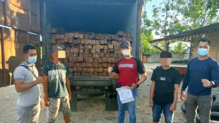 Angkut Kayu Diduga Ilegal, Pria asal Balikpapan Diamankan di Polres Tabalong