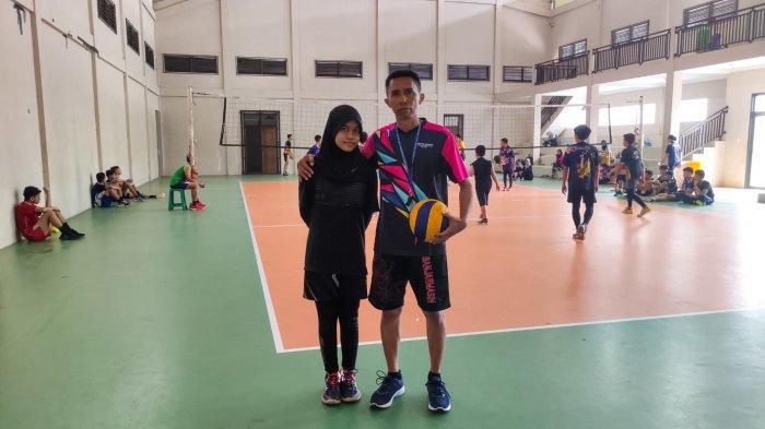 Terinspirasi Atlet Nasional Tri Retno Mutiara, Pevoli Muda Banjarmasin Ingin Menjadi Tosser Andal
