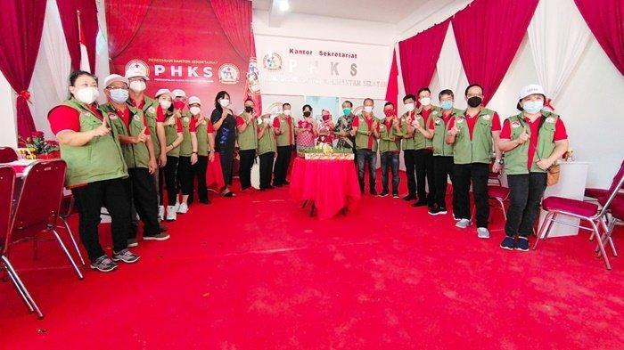 Pengurus Perkumpulan Hakka Kalsel Resmikan Sekretariat di Landasan Ulin Kota Banjarbaru