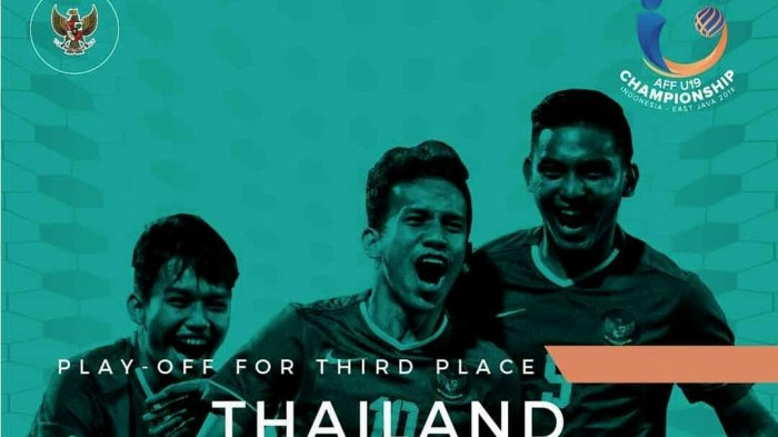 Link Live Streaming Timnas U-19 Indonesia vs Thailand via Streaming Indosiar Piala AFF U-19 2018
