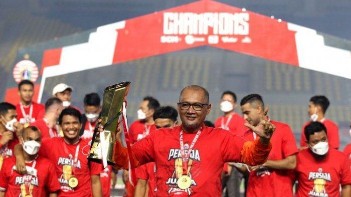 Cara Persija Jakarta Siapkan Strategi Hadapi PSS di Liga 1 2021, Kondisi Pemain Terus Dijaga