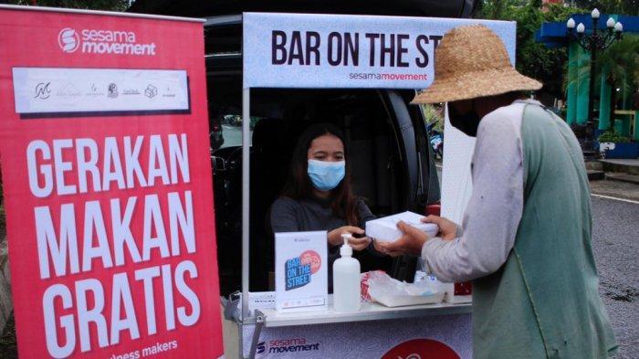 Berkolaborasi dengan Para Pelaku Kuliner di Banjarbaru, Sesama Movement Gelar Bar On The Street