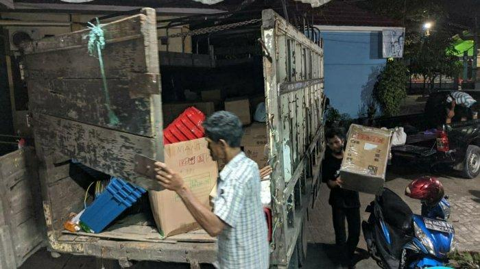 Pilkada Kalsel 2020, PSU Pilwali Banjarmasin Tinggal Hitungan Hari, KPU Mulai Salurkan Logistik APD