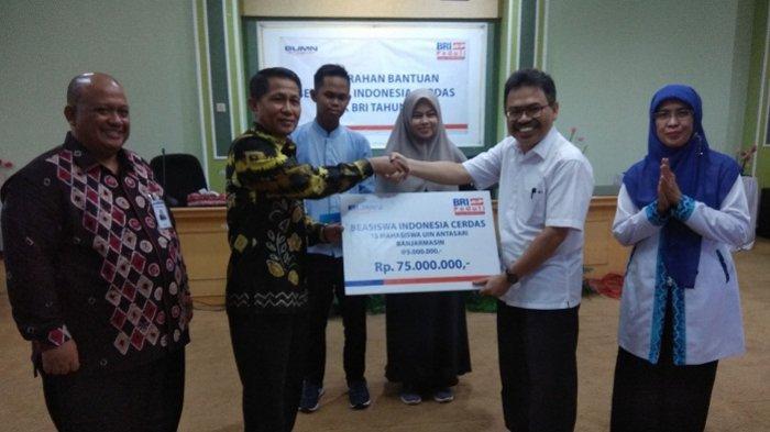 Bank BRI Cabang Samudera Banjarmasin Serahkan Dana CSR kepada Mahasiswa UIN Antasari Banjarmasin