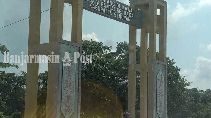 KALTENGPEDIA: Profil Objek Wisata Sungai Bakau Seruyan