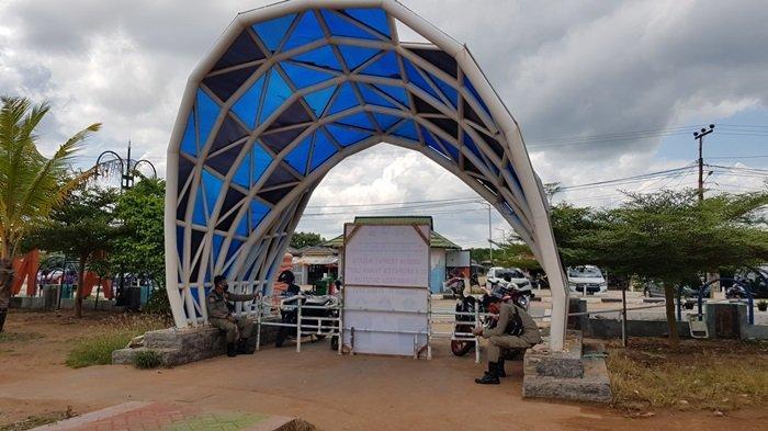 Pantai Takisung Tanahlaut Sepi Pintu Masuk Ditutup Portal, Pengunjung Beralih ke Pesisir Sekitar