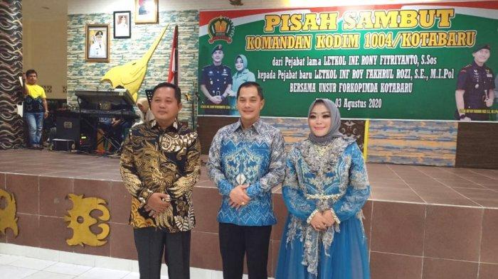 Tampuk Pimpinan Kodim 1004 Kotabaru Berganti, Pisah Sambut Dihadiri Wakil Ketua DPRD Kotabaru