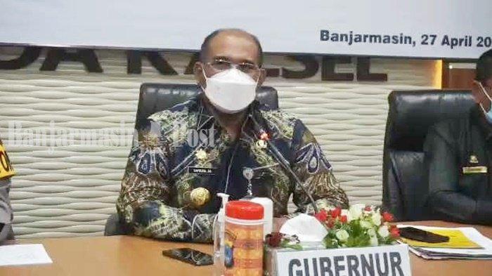 Pj Gubernur Kalsel Safrizal ZA Ingatkan Salat Idul Fitri Tak Bersalaman