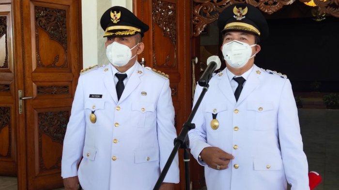 Inilah Pesan Khusus Pj Gubernur Kalsel saat Melantik Pj Wali Kota Banjarmasin