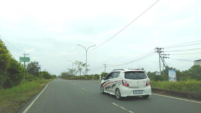 Kondisi PJU Jalan Dharma Praja Tanbu dan Jalan Lingkar Masih Banyak Mati Tak Berfungsi