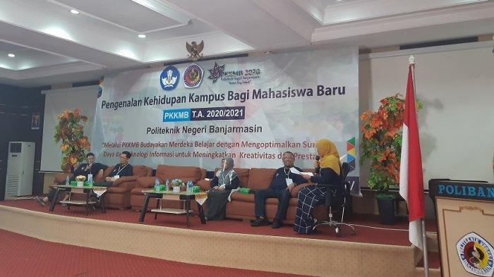 PKKMB Poliban Digelar Virtual, Begini Penjelasan dan Harapan Direktur Politeknik Negeri Banjarmasin
