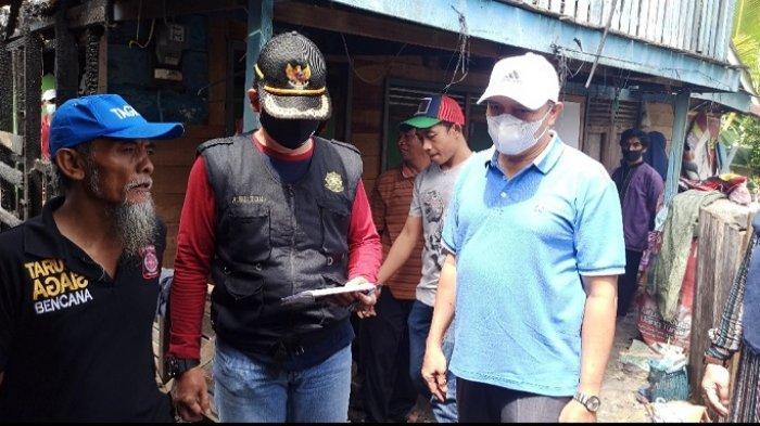 Pasca Kebakaran di Pelambuan, Plh Walikota Banjarmasin Tinjau Pemukiman Warga Terdampak