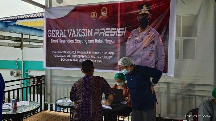 PT PLN (Persero) UPDK Palangkaraya menggelar vaksinasi bagi seluruh pegawainya.