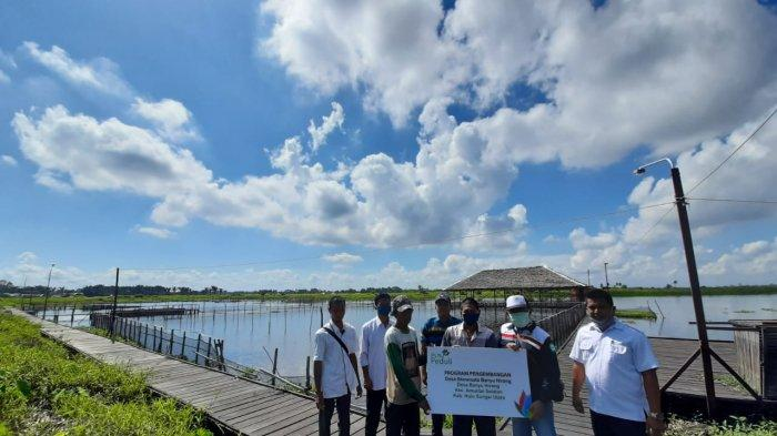 PLN Peduli membina Desa Ekowisata Banyu Hirang.