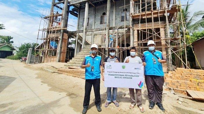 PLN Peduli Berikan Bantuan Pembangunan Rumah Ibadah dan Asrama Santri di Kalteng