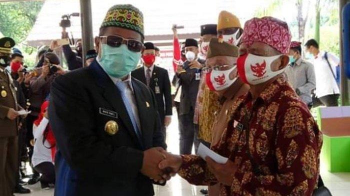 Peringati Hari Pahlawan 2020, Veteran Dapat Tali Asih dari Pemprov Kalteng