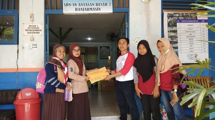 Peduli Gempa Lombok, Pelajar Banjarbaru Sudah Kumpulkan Rp 170 Juta
