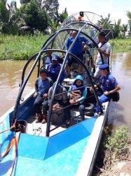 Dinas Perikanan HST Sampaikan Permohonan ke Polda Kalsel Soal Maraknya Penyetruman Ikan