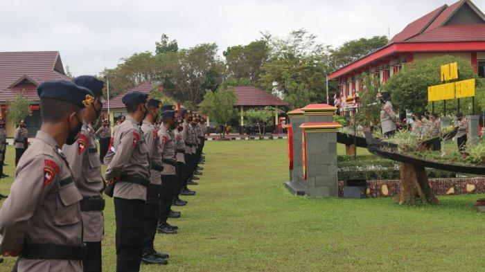UPDATE COVID-19 Kalteng, Warga Terpapar Sehari Capai 624 Orang,Polda Kerahkan Pasukan Tracer
