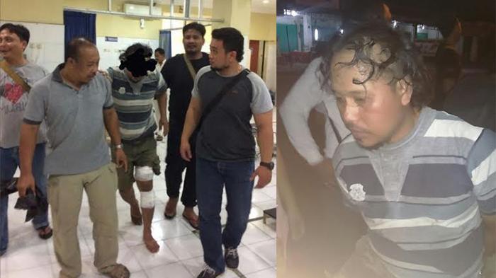 Penusuk Ibu dan Anak Dibekuk di TPA Monang-Maning, Sempat Melawan Petugas