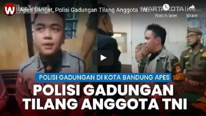 Polisi Gadungan Razia Dua Anggota TNI, Berujung Diinterogasi di Pos Satpol PP