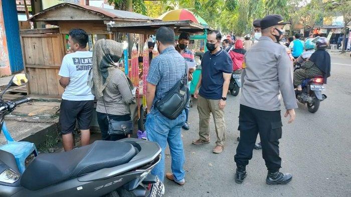 Razia di Pasar Los Batu Kandangan, Polres HSS Sita Petasan dan Kembang Api dari 4 Pedagang Ini