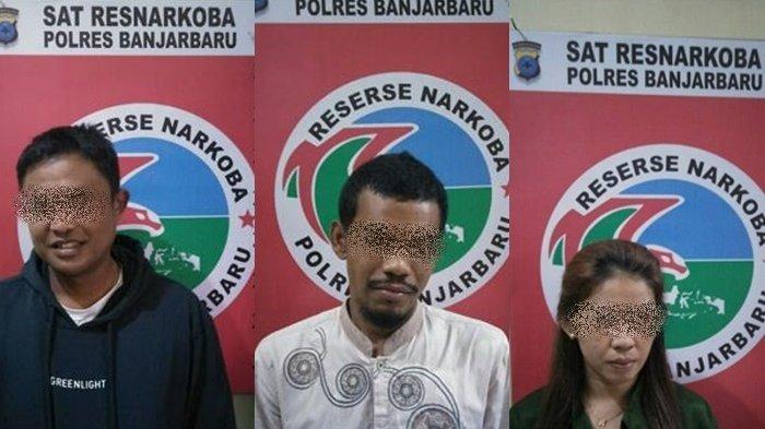 Setelah menangkap AHY, Polisi menangkap pelaku lainnya, FS alias Esol (36) warga Sungai Tiung Rt.001 Rw.001, seorang ibu rumah tangga, AAM (29) dan Bul alias Ibul (33).
