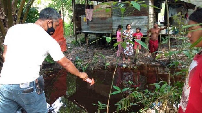 Izin Bermain, Dua Bocah Ini Ditemukan Tewas Mengapung di Sungai Panganen Bukitbatu Palangkaraya