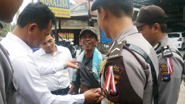 Razia Senjata Tajam di Pasar Martapura