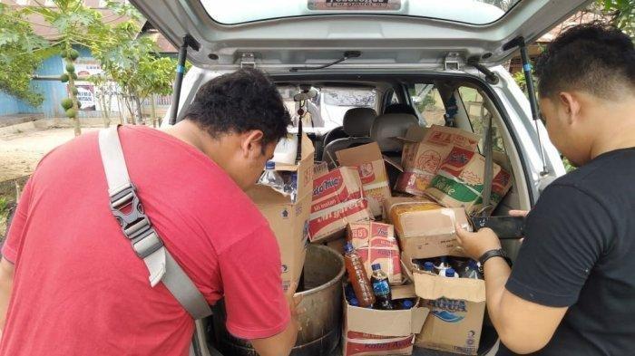 Polres Berau Tangkap Pengooplos Madu, Amankan Ratusan Liter Madu Palsu