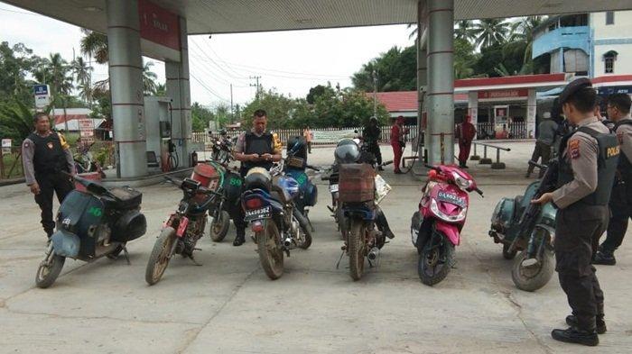 Truk Kontainer Bikin Macet Jalan Belitung Banjarmasin!