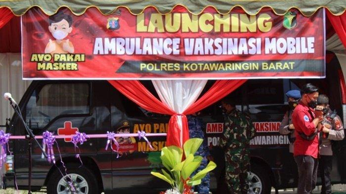 Kabupaten Kobar Kalteng Miliki Ambulans untuk Pelayanan Vaksinasi Covid-19