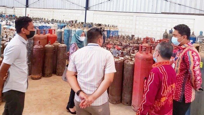 Polres Tabalong Pantau Stok Oksigen di PT Samator Gas Industri Tanjung