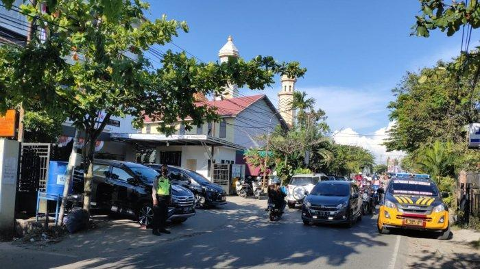Jelang PSU Pilwali, Polresta Banjarmasin Kawal Pergeseran Logistik