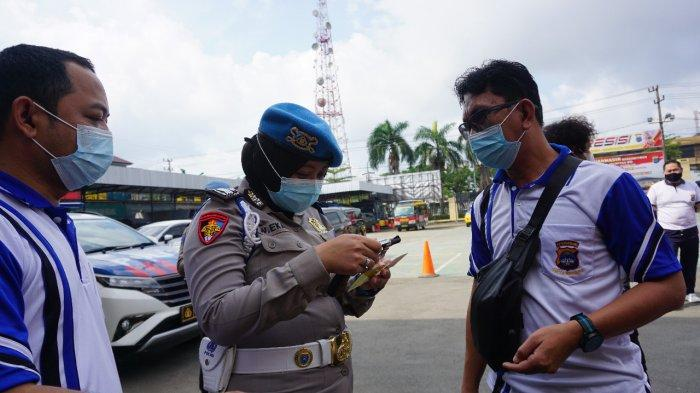 Polresta Banjarmasin Gelar Pemeriksaan Administrasi Senpi Anggota