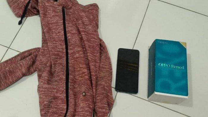 Pencurian Kalsel, Nekat Curi Smartphone, Residivis Ditangkap Tim Beat Polsek Paringin