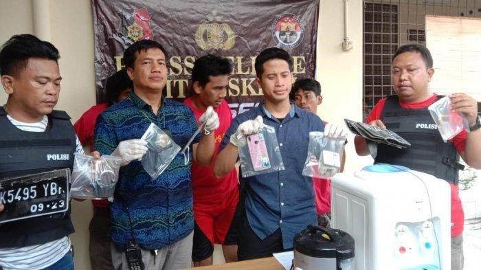 Berupaya Kabur, Kaki 3 Pencuri Motor Ini Ditembak Polisi, 15 Kali Beraksi di Medan-Deliserdang