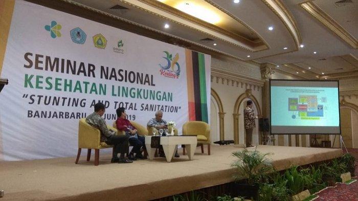Dies Natalis Ke-36, Poltekkes Banjarmasin Gelar Seminar Nasional Bahas Stunting and Total Sanitation