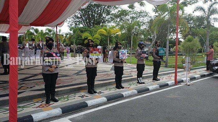 Petugas Operasi Yustisi di Palangkaraya Jaring 17 Warga Tak Pakai Masker