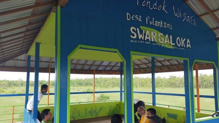 Wisata Kalsel, Pondok di Rawa Swargaloka HSU Dilengkapi Toilet untuk Kenyamanan Pengunjung